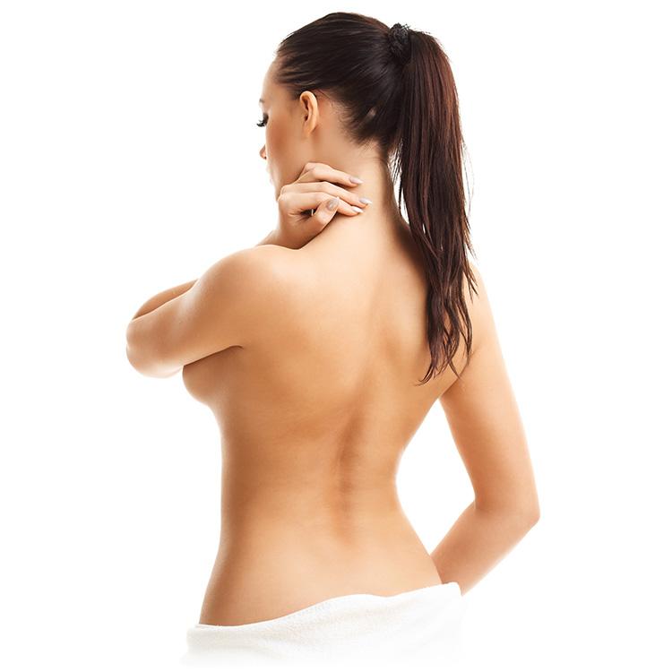 Brust op asymmetrische Asymmetrische Brüste/